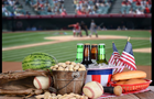 Answer BEER, PEANUT, FLAG, BALL, BAT, WATERMELON, BREAD, BUCKET