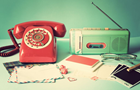 Answer RADIO, TELEPHONE, GLASSES, STAMP, TAPE, CLOTHES PEG, POLAROID, MUSTACHE